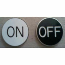 *New* On/Off Puck Button, 2 Inch Diameter