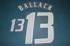 UEFA EUROPEAN CHAMPIONSHIP 2004 Germay #13 BALLACK Awaykit Name Set Printing