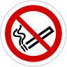 Rauchen verboten Aufkleber 9,5 cm Ø Nichtraucher Rauchverbot - Mengenrabatte