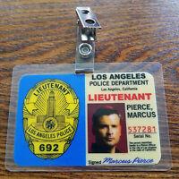 Lucifer TV Show ID Badge-Lieutenant Marcus Pierce cosplay costume prop