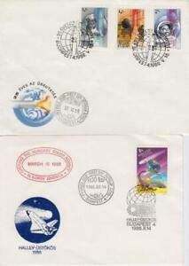 Hungary Selection of Space Related FDCs/Event Covers (Set of 15)