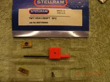 x2 STELLRAM THREAD MILLING CARBIDE INSERTS TMT 14EN 14BSPT SFZ + TORX+ SCREW NEW