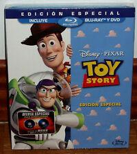 TOY STORY EDICION ESPECIAL DISNEY COMBO BLU-RAY+DVD SLIPCOVER (SIN ABRIR) R2