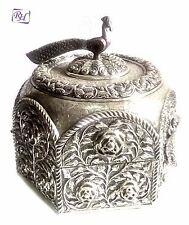 German Silver Box Antique European Box Store Item Jewelry Box