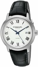 Raymond Weil Men's Maestro Automatic Silver Dial Watch 2237-STC-00659 NEW