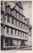 Frankfurt am Main , Das Goethehaus , Ansichtskarte , 1951 gel.