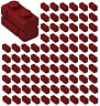 ☀️100x NEW LEGO 1x2 DARK RED Modified Masonry Profile Bricks #98283 BULK Parts