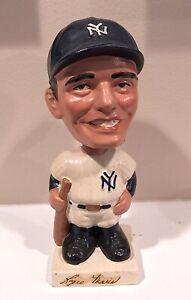 Roger Maris 1960s New York Yankees Vintage Bobblehead Nodder Square Base MLB