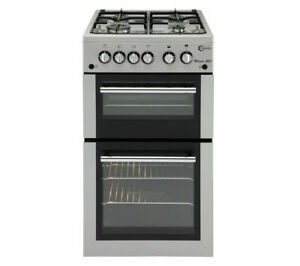 FLAVEL MLB51NDS Gas Cooker - Silver - Currys