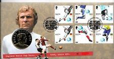 GB QEII ROYAL MAIL / MINT PNC COIN COVER 2006 BOBBY MOORE WORLD CUP MEDAL