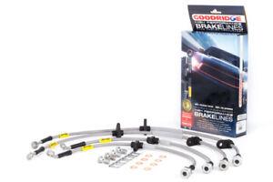 Goodridge Stainless Steel Brake Lines for 94-01 Integra / 92-95 Civic w/ ABS