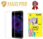 Samsung Galaxy S8 COMPLETO 3d Blanco CURVADO VIDRIO TEMPLADO + Funda Gel