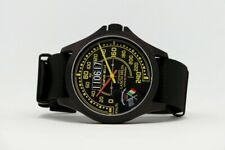 Watch Lancia Delta Limited Edition New Black PVD Gift Idea Unisex