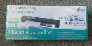 IRIScan Anywhere 3 WiFi Portable Scanner for Windows and Mac