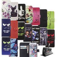 Handyhülle Schutz Tasche Case Cover Wallet Kunstleder 360 Grad Standfunktion Neu