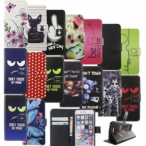 Phone Case Protection Cover Wallet Faux Leather 360 Degree Stand Function New