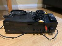Yamaha RX-485 AM/FM Hi-Fi Stereo Reciever (+ Remote, Antennas and Cables) Bundle