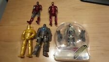 Marvel Universe Iron man 3.75 lot of five figures