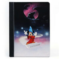 Mickey Mouse Symphony Monster Cartoon Wallet Tablet Leather Case Cover