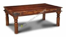 Less than 60cm Height Solid Wood Indian Coffee Tables