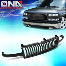 FOR 1999-2002 SILVERADO -2006 SUBURBAN TAHOE BADGELESS STYLE FRONT BUMPER GRILLE