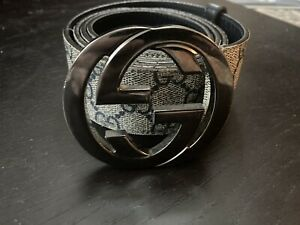mens gucci belt size 34-36. Made in Italy.