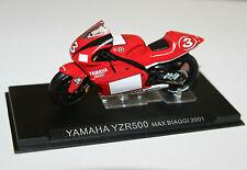 IXO - YAMAHA YZR500 Max Biaggi (2001) Motorcycle Model Scale 1:24