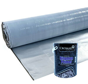 Technoelast VB-500 Foil Self Adhesive Aluminium Vapour Barrier for Flat Roofing