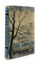 Hermann Hesse, W J Strachan / Peter Camenzind First Edition 1961