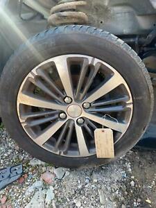 2017 Peugeot 208 1.2 Alloy Wheels + Tyre 16 Inch 195/55/16 9808137577 98081375XC