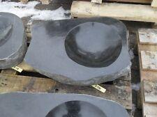 Becken aus poliertem Granit - Granittrog Vogeltränke Bachlauf Waschbecken - B110