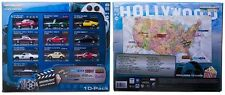 GREENLIGHT HOLLYWOOD 10 CAR COLLECTOR CASE SET SERIES 1 1/64 71710