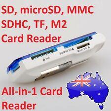 MINI Micro SD SDHC SDXC MMC TF USB 2.0 SD T-Flash TF M2 Memory Card Reader