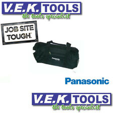 PANASONIC LITHIUM CORDLESS DRILL,SAW, GRINDER TOOL BAG