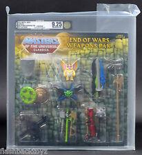 2013 MOTU End of Wars Weapons Pak AFA U9.25 Masters of the Universe Classics MOC