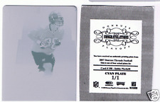 SABBY PISCITELLI 1 OF 1 PRESS PLATE 2007 DONRUSS THREAD