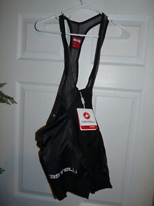 New Castelli Mens Free Aero Race 4 Bibshort Black  Large New