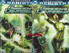 DC UNIVERSE REBIRTH GREEN LANTERN #3 REGULAR & LUPACCHINO VARIANT NEW 1ST PRINT!