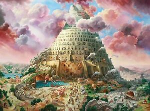 New 3000 Pieces pcs pc Puzzle jigsaw Castorland Tower of Babel C-300563
