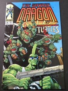 Savage Dragon Mini Series #2 NM Vs Mutant Ninja Turtles, Vanguard #0 intro