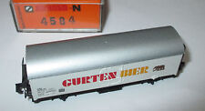 """Arnold 4584 Bierwagen  """"Gurten Bier""""  SBB  > Top/OVP"""
