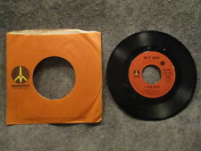 """45 RPM 7"""" Record Billy Swan Ways Of A Woman In Love & I Can Help 1974 ZS8 8621"""