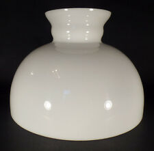 "12"" Opal Milk Glass Student Kerosene Oil Banquet White Table Desk Lamp Shade"