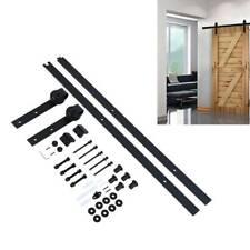 Sliding Barn Door Hardware Kit 6.6FT Modern Closet Hang Style Track Rail