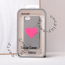 Incase Graphic iPhone SE iPhone 5s iPhone 5 Snap Case  Silver Chrome Pink Heart