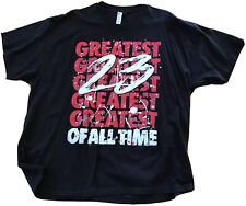 Men's  23 Greatest of All Time Graphic T-Shirt Size 3XL Red/Bl