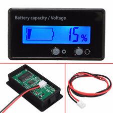 12v 24v 36v 48v LCD Indicateur capacité de la batterie testeur plomb acide