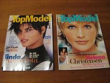 ELLE top model,helena christensen,bridget hall,linda evangelista,monica bellucci
