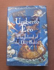 SIGNED - THE ISLAND OF THE DAY BEFORE by Umberto Eco  - 1st HCDJ 1995