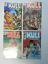 Kull the Conqueror set #1 to #4 Third 3rd Series 4 different books 8.0 VF (1983)